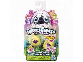 Hatchimals sběratelská zvířátka ve vajíčku 2 ks série 3