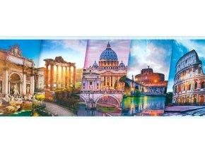 Trefl Puzzle - Cestování do Itálie