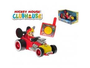 Mickey Mouse R/C závodní formule 13cm 2,4GHz na baterie