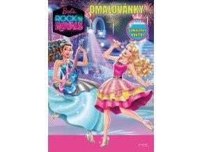 barbie rock omalovanky titulka