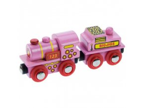 BJT412 Pink 123 Engine 2