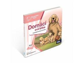 Kouzelné čtení Interaktivní mluvící minikniha Domácí zvířata