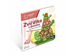 Kouzelné čtení Interaktivní mluvící minikniha Zvířátka z divočiny