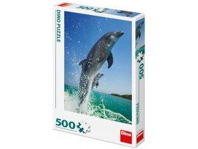 Puzzle Delfín 500
