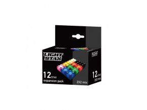 light stax 12pcs pack mix 8 colors duplo komp
