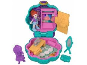 Polly Pocket Panenka mini v kufříku s doplňky