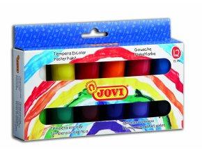 Barvy temperové Jovi 12x15ml v kelímku