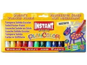 Tuhé temperové barvy 12 ks
