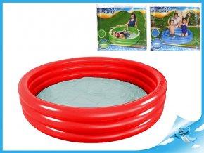 Bazén nafukovací 122x25cm 3 komory