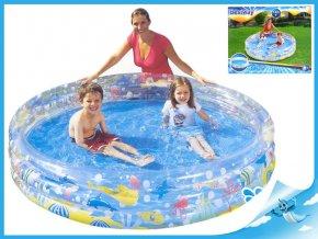 Bazén 183x33cm 3komory 24m+ v krabičce