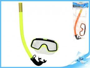 Potápěčská sada brýle 14cm se šnorchlem 33cm