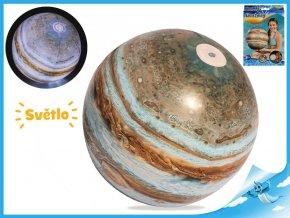 Míč nafukovací Jupiter 61cm se světlem na baterie 24m+