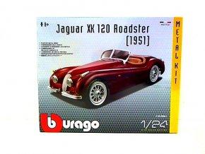 Bburago kovová stavebnice Jaguar XK 120 ROADSTER (1951)