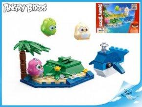 Edukie stavebnice Angry Birds - ostrov s velrybou