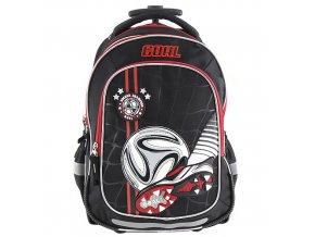 Školní batoh Target - 3D kopačka a míč