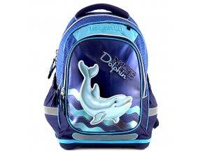 Školní batoh Target - 3D Dolphin