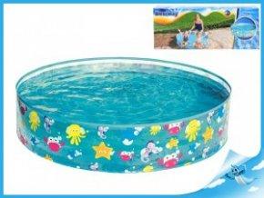 Bazén pevný - mořský svět 122x25cm