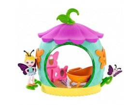 enchantimals petal park cocoon bathroom playset