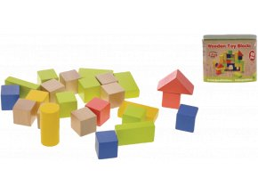 Kostky dřevěné 50ks 2-Play