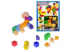Kostky různé tvary 58ks v krabičce