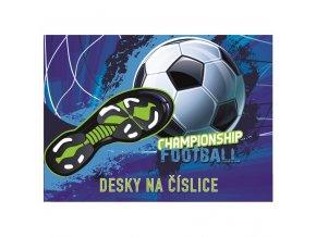Desky na číslice Championship Football