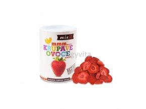 krupave ovoce jahody mixit