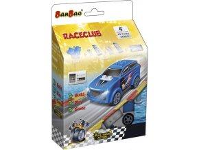 BanBao stavebnice RaceClub auto závodní Saturn zpětný chod