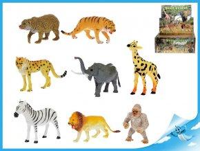Zvířátka safari 13-20cm 8 druhů