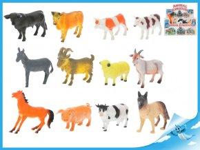 Zvířátka farma 10-13cm 12 druhů
