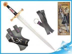 Rytířská sada meč 63cm s pouzdrem a opaskem
