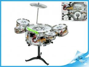 Sada bicích - 5ks bubnů, činel a paličky