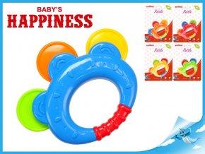 Chrastítko 12cm Baby's Happiness 3m+