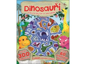 98543233 dinosauri prehistoricky svet se samolepkami