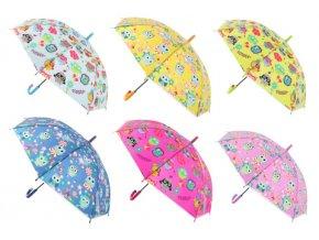 Deštník sovičky