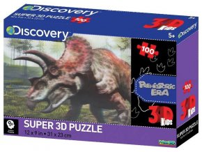 m puzzle triceratops 3d 100 dilku 99401