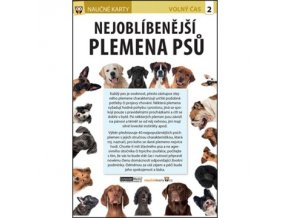 Nejoblíbenější plemena psů - naučné karty
