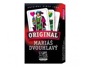 Mariáš dvouhlavý - karty