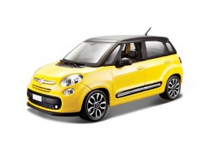 Bburago Fiat 500 L žlutý KIT 1:24