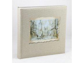 Retro Look Fotoalbum in Braun 30x30 cm 100