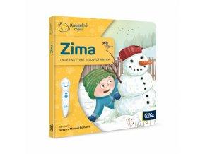 Kouzelné čtení Mini kniha - Zima