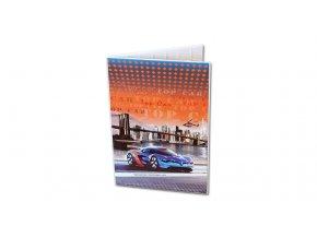 Desky na abecedu Top Car