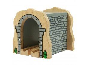 Dřevěné vláčkodráhy Bigjigs - Kamenný železniční tunel