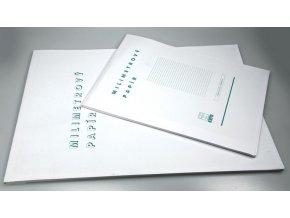 krpa milimetrovy papir a4 50 listu