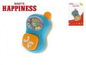 74154 111510 chrastitko telefonek plast 9cm s kulickami baby s happiness 3m na karte[1]