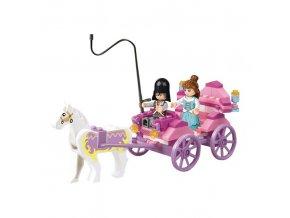 Sluban GIRLS DREAM Princeznin kočár