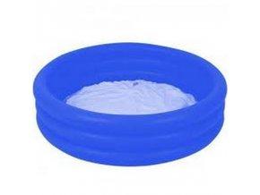 Tříkomorový bazének 102x25 cm - modrý