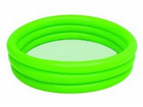 Tříkomorový bazének 102x25 cm - zelený