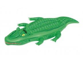 Krokodýl nafukovací s držadlem, 167 x 89 cm