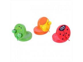 Dětské hudební nástroje - Dřevěné kaskaněty zvířátka