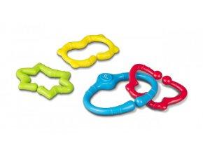 Plastové kroužky 4 kusy